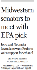 Clip from the front page of today's Omaha World-Herald.
